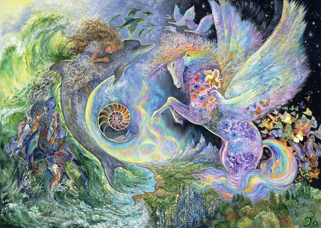Puzzle Josephine Wall - Magical Meeting Grafika