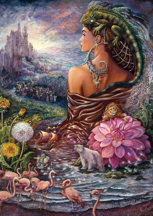 Puzzle Josephine Wall - The Untold Story Grafika