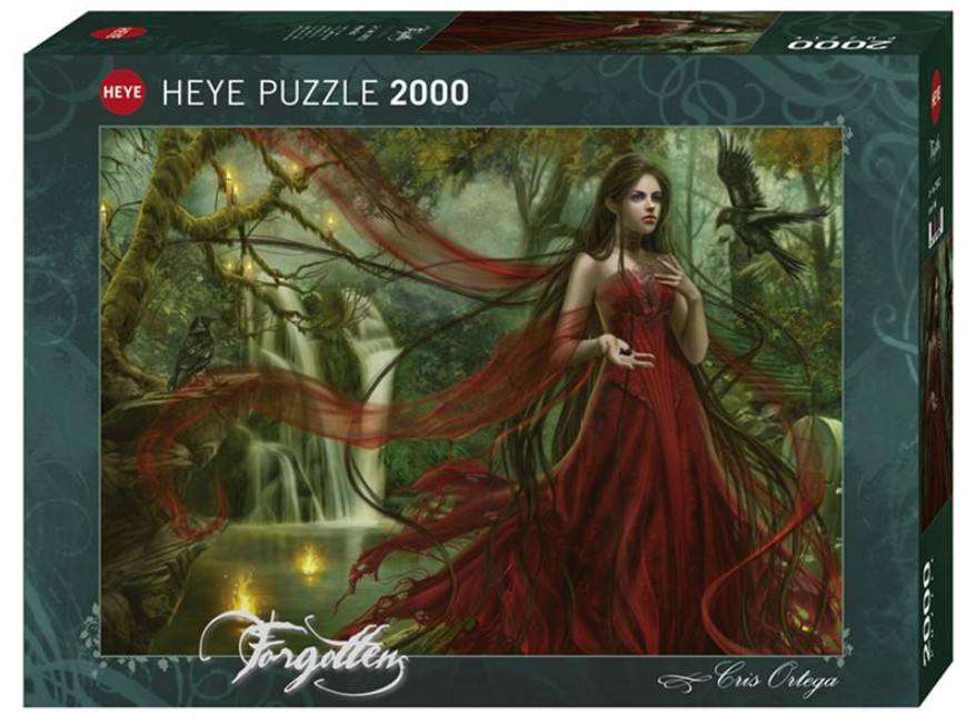 Puzzle Cris Ortega - New Red Heye