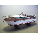 Puzzle   Maquette en Carton : Chris Craft Futura
