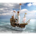 Puzzle   Maquette en Carton : The Columbus Ship Santa Maria