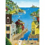 Puzzle  Master-Pieces-31675 Pièces XXL - A Walk on the Pier