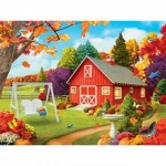 Puzzle  Master-Pieces-31807 Pièces XXL - Harvest Breeze