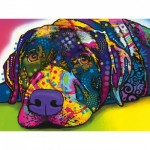 Puzzle  Master-Pieces-31823 Pièces XXL - Dean Russo - My Dog Blue