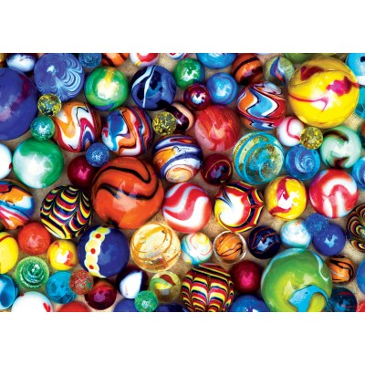 Puzzle Master-Pieces-31854 Pièces Mini - World's Smallest - All My Marbles