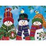 Puzzle  Master-Pieces-31910 Pièces XXL - Snowy Afternoon Friends