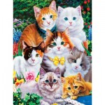 Puzzle  Master-Pieces-31919 Pièces XXL - Purrfectly Adorable