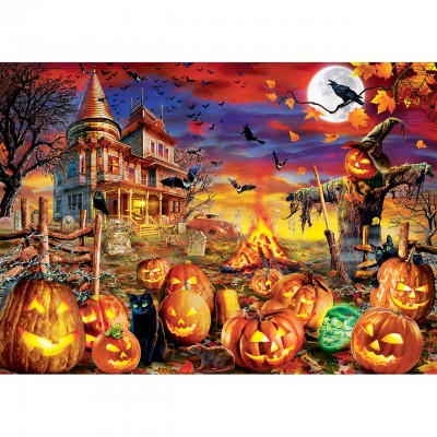 Puzzle Master-Pieces-31991 Glow in the Dark - All Hallow's Eve