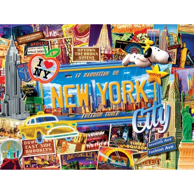 Puzzle Master-Pieces-32026 New York City