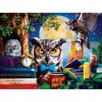 Puzzle  Master-Pieces-32151 Pièces XXL - Night Owl Study Group