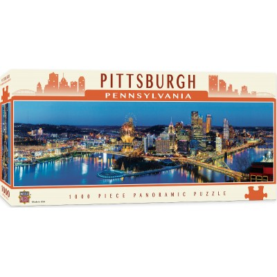 Puzzle Master-Pieces-71589 Pittsburgh, Pennsylvania
