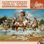 Puzzle  Master-Pieces-71612 Tribal Spirit - The Chiefs