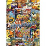 Master-Pieces-71661 Puzzle en Valisette - See America