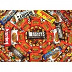 Puzzle  Master-Pieces-71688 Hershey's Swirl - Chocolate Collage