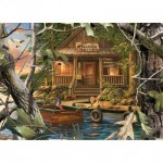 Puzzle  Master-Pieces-71754 Gone Fishing