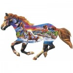 Puzzle  Master-Pieces-72039 Running Horse