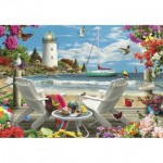 Puzzle  Master-Pieces-81401 Coastal Escape