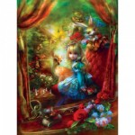 Puzzle   Pièces XXL - Book Box - Alice at the Chessboard