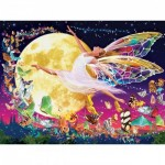 Puzzle   Pièces XXL - Glow in the Dark - Moon Fairy