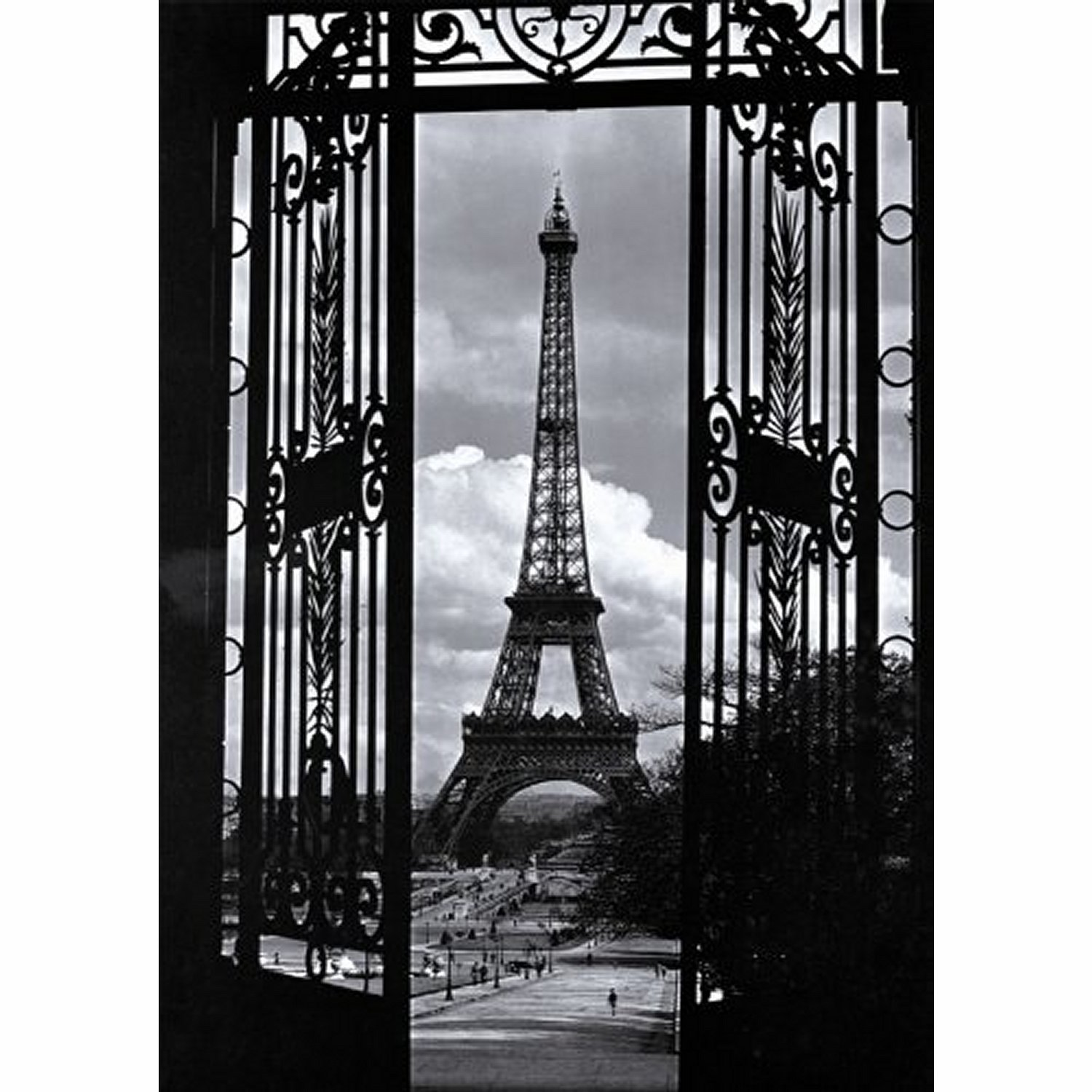 puzzle tour eiffel nostalgique nathan 87570 1000 pi ces puzzles villes et villages planet. Black Bedroom Furniture Sets. Home Design Ideas