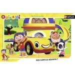 Nathan-86034 Puzzle Cadre - Oui-Oui