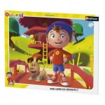 Nathan-86064 Puzzle Cadre - Oui-Oui