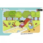 Nathan-86132 Puzzle Cadre - Tchoupi