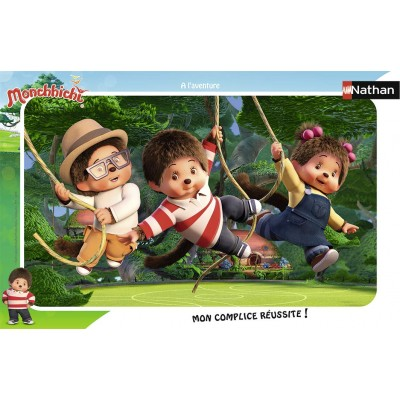 Nathan-86137 Puzzle Cadre - Monchhichi