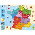 Puzzle  Nathan-86875 Carte de France