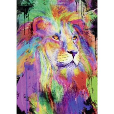 Puzzle Nathan-87607 Aimee Stewart - Lion Majestueux