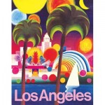 Puzzle   Los Angeles - American Airlines Poster Mini