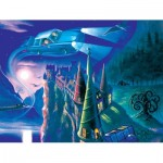 Puzzle  New-York-Puzzle-HP1710 Pièces XXL - Harry Potter - Journey to Hogwarts
