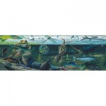 Puzzle  New-York-Puzzle-NG1982 Pièces XXL - Freshwater Ecosystem