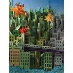 Puzzle  New-York-Puzzle-SW2014 Pièces XXL - Transit Posters - Smarter Greener Better