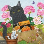 Puzzle  Otter-House-Puzzle-73341 Black Cat 'Pumpkin'