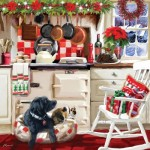 Puzzle  Otter-House-Puzzle-74138 Christmas Kitchen