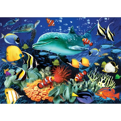 Puzzle Otter-House-Puzzle-74222 Coral Reef