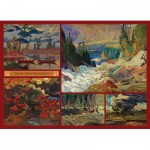 Puzzle  Cobble-Hill-51011 J.E.H. MacDonald - Collage - MacDonald Collection