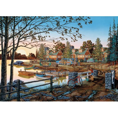 Puzzle Cobble-Hill-51739 William Kreutz : Loin de tout