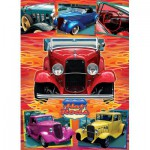 Puzzle  Cobble-Hill-51750 Lorne Miller : Hot Rods