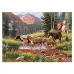 Puzzle  Cobble-Hill-51844 Mountain Thunder