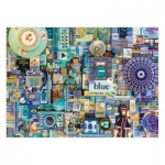 Puzzle  Cobble-Hill-51865 Shelley Davies: Blue