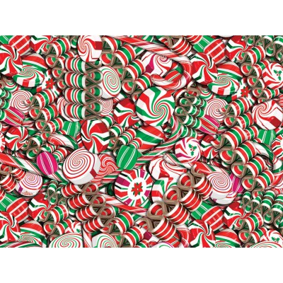 Puzzle Cobble-Hill-52094 Pièces XXL - Holiday Candy
