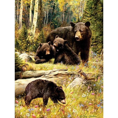 Puzzle Cobble-Hill-52102 Pièces XXL - Greg Giordano - Bears