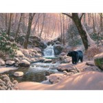 Puzzle  Cobble-Hill-52113 Pièces XXL - Mark Keathley: Black Bear Brook