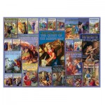 Puzzle  Cobble-Hill-53004-80051 Vintage Nancy Drew