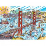 Puzzle  Cobble-Hill-53504 DoodleTown : San Francisco