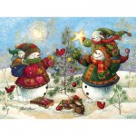 Puzzle  Cobble-Hill-54352 Pièces XXL - Holiday Sparkle