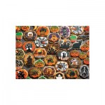 Puzzle  Cobble-Hill-54612 Pièces XXL - Halloween Cookies