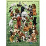 Puzzle  Cobble-Hill-54623 Pièces XXL - Puppy Love
